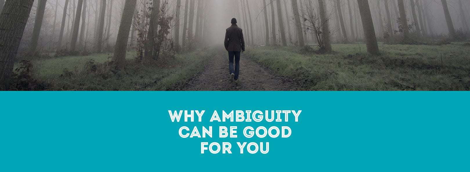 Why Ambiguity Can Be Good For You