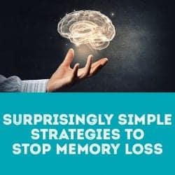 Surprisingly simple strategies to stop memory loss